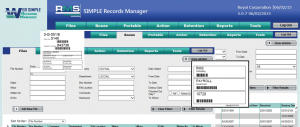 Web Simple Records Manager